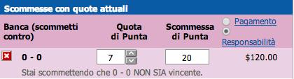 Bancare 0-0 a quota 7