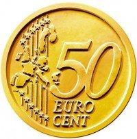 50 centesimi euro