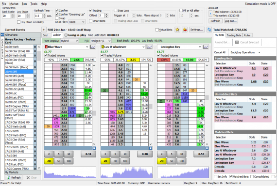 betfair trading tools