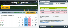 nuovo layout betfair