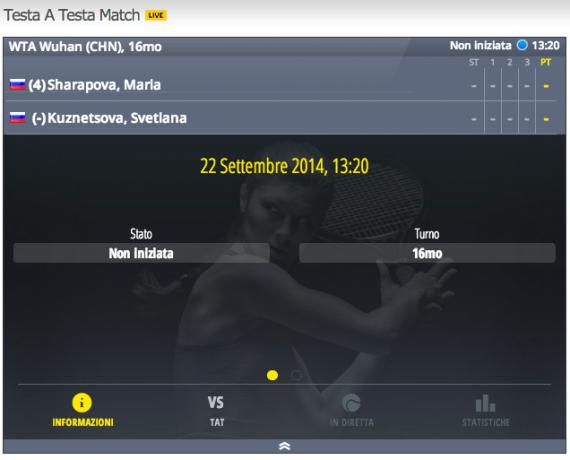 tennis prematch