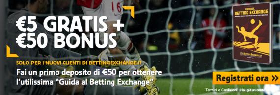 promozione betfair 50 euro
