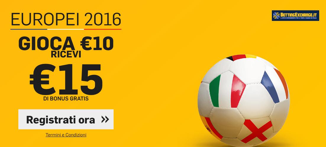 betfair 15 euro bonus