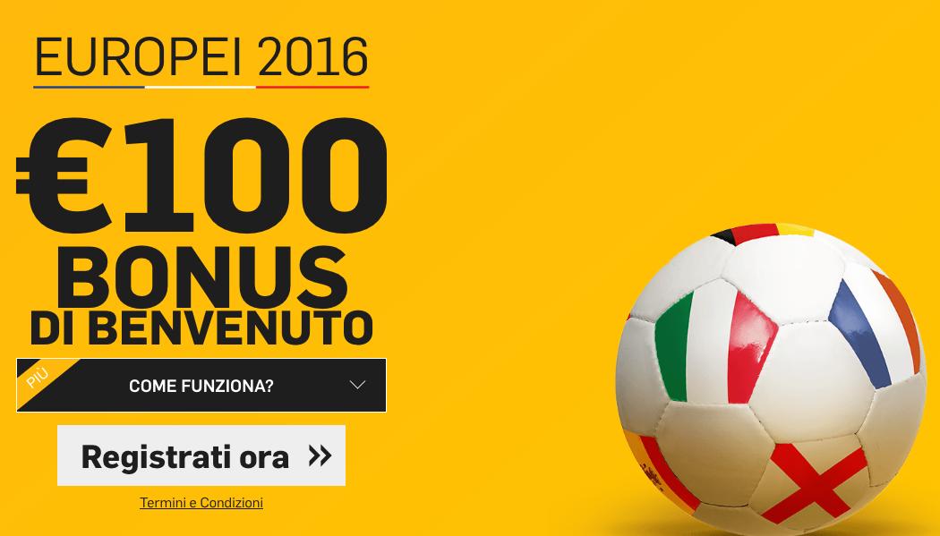 bonus betfair 100 euro